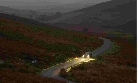 car-travelling-over-dartmoor