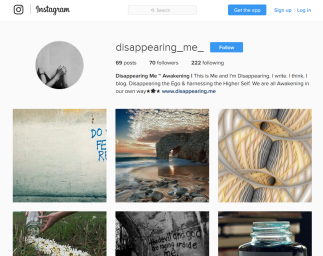 Instagram's Home Page